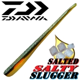 Daiwa Tournament Salty Slugger Softbait mit Pin-tail (stark gesalzen!)