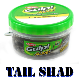 Gulp! Alive! Paddle Tail Shad