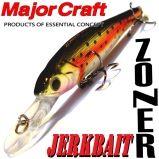 Major Craft Lures Zoner Jerkbait 50SP / 50 mm
