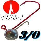 Größe 3/0 VMC Jig mit Baitholder