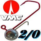 Größe 2/0 VMC Jig mit Baitholder