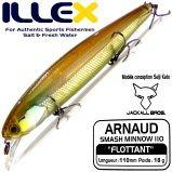 Illex Arnaud 110F 110mm Floating Wobbler