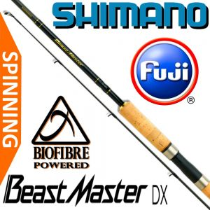 Shimano BeastMaster DX Spinning 270H 2,70m WFG 20-50g 202g Fuji Guides Biofibre Powered