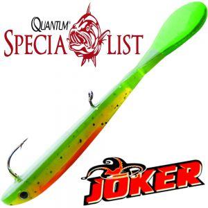 Quantum Specialist Joker Soft Lure Gummifisch 8,5cm 2g Firetiger 3 Stück im Set