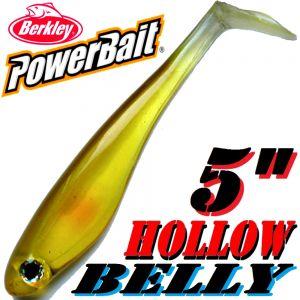 Berkley Hollow Belly Gummifisch Swimbait 12,5 cm Ayu 3 Stück im Set