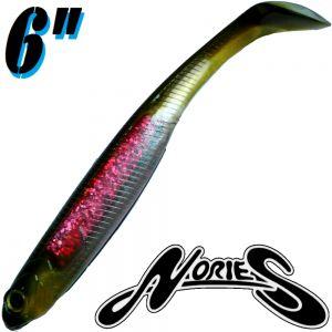 Nories Spoontail Shad 6 Gummifisch Pink Ayu 5 Stück