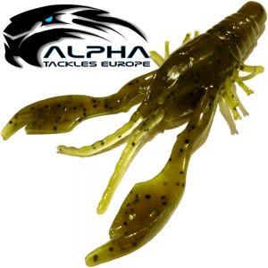 Alpha Tackles A-Factor Killer Prawn 4 Green Pumpkin 1 Stück