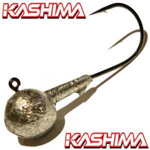 Kashima Jigkopfhaken Jigkopf Rund in Größe 6/0 12g Jighaken mit Kashima Haken 1 Stück