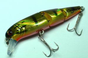 Coyote Pro Lures Carvex Jointed Wobbler 7,5cm 12g Farbe Gold Bass NEU