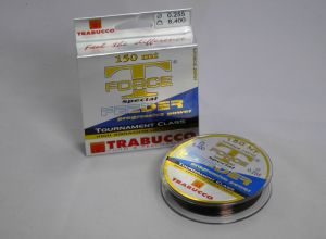 Trabucco T Force Feederschnur / 0,255 mm / 150 m / 8,4 Kg