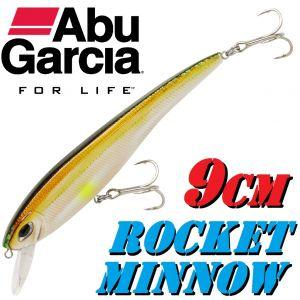 Abu Garcia Rocket Minnow Wobbler 9cm  10g Farbe Amber