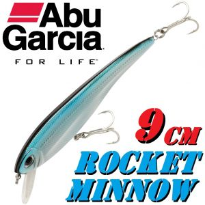 Abu Garcia Rocket Minnow Wobbler 9cm Metallic