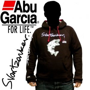Abu Garcia Svartzonker Hoodie Kapuzenpullover Gr. L Farbe Schwarz