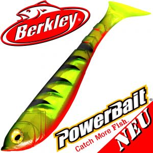 Berkley Power Bait Pulse Shad Gummifisch 14cm FT Firetiger 2016 / 3 Stück im Set NEU 2016