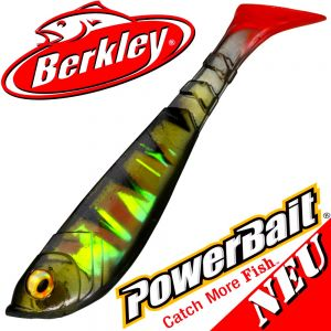 Berkley Power Bait Pulse Shad Gummifisch 6cm Perch 2016 NEU 5 Stück im Set!