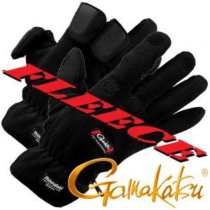 Gamakatsu Fleece Angelhandschuh Größe XL mit 40g Thinsulate und gummierten Handflächen sowie geschlitzten Fingern!