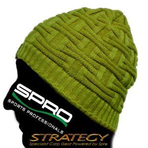 Spro Strategy Beanie Mütze mit Thermofleece gefüttert 100% Windstopper Funktion Angelmütze / Wintermütze