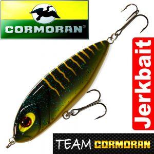 Team Cormoran Micro Jerkman Jerkbait 7cm Black Tiger 12g Sinking