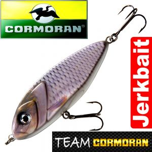 Team Cormoran Micro Jerkman Jerkbait 8,5cm Natural Roach 22g Sinking