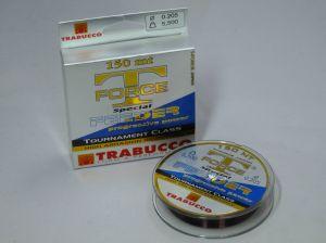 Trabucco T Force Feederschnur monofile Angelschner 0,205mm 150 m 5,5 Kg