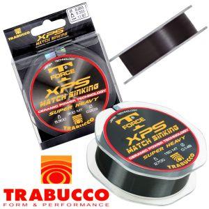 Trabucco T-Force XPS Match Sinking monofile Angelschnur 0,165mm 3,6kg 300m Super Heavy
