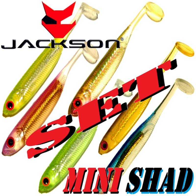 Jackson Gummifisch Forelle /& Barsch K/öder Active Shad