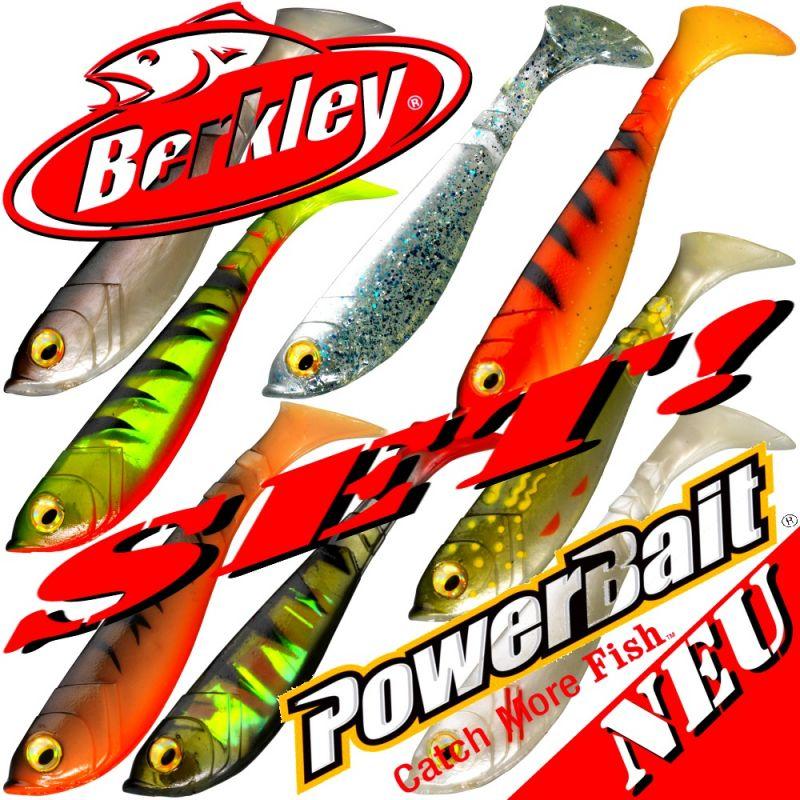 Berkley Power Bait Pulse Shad Gummifisch 11cm Pearl White 3 Stück im Set!