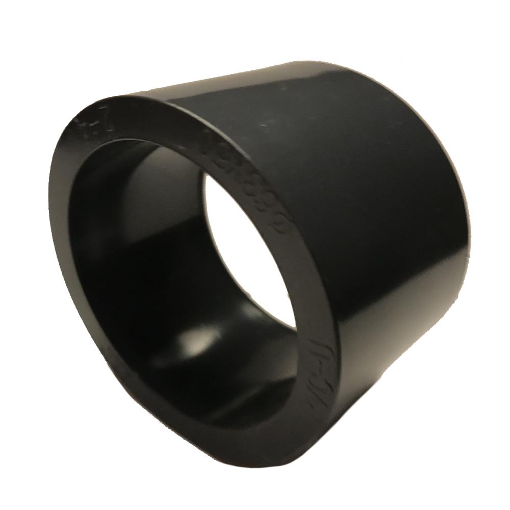 Reduziermuffe 50mm auf 25mm Rohr Reduzierung Klebemuffe Fitting PVC Spritzguss