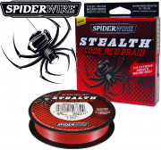 Spiderwire Stealth Code Red geflochtene Angelschnur 270m 0,10mm 6,2 kg