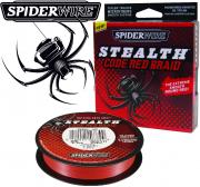 Spiderwire Stealth Code Red geflochtene Angelschnur 270m 0,10mm 6,2 kg