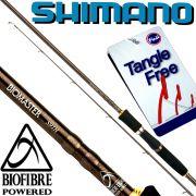 Shimano Biomaster Spin S91H Spinnrute 2,77m WFG 15-60g Gewicht 191g Fuji Tangle Free Ringe