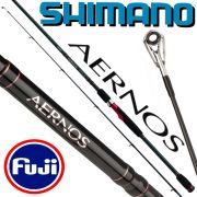 Shimano Aernos Spinning Spinnrute 2,70m WFG 15-40g Fuji Ringe XT60 Blank mit Geofibre