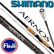 Shimano Aernos 270XH Spin Spinnrute 2,70m WFG 50-100g 267g Fuji Ringe XT60 Blank mit Geofibre