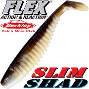 Berkley Flex Slim Shad 6 Gummifisch 15cm Smelt