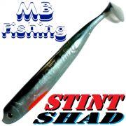 Stint Shad Gummifisch 160mm Farbe Silverline 3 Stück im Set Hecht & Zanderköder