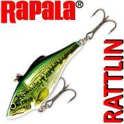 Rapala Rattlin Shad Crankbait Wobbler 7cm 16g Farbe Baby Bass Sinking VMC Hooks