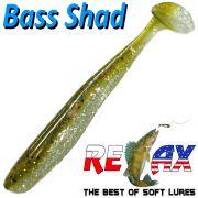 Relax Bass Shad Gummifisch 90mm in Farbe Kaulbarsch Barsch & Zanderköder