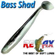 Relax Bass Shad Gummifisch 90mm in Farbe Smelt Barsch & Zanderköder