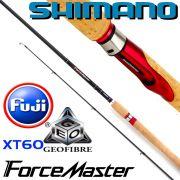 Shimano Forcemaster BX Spinning 270 L 2,70m WFG 3-14g Gewicht ca. 172g 138cm 2 teilige Spinnrute