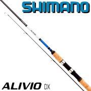 Shimano Alivio DX 270ML Spinnrute 2,70m WFG 3-15g 210g 2 teilige Angelrute