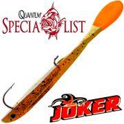 Quantum Specialist Joker S Soft Lure Gummifisch 8,5cm 5g Fudge Head 3 Stück im Set