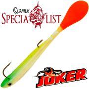 Quantum Specialist Joker S Soft Lure Gummifisch 8,5cm 5g Rainbow 3 Stück im Set