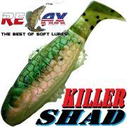 Relax Killer Shad Gummifisch 5,0 cm Rainbow Trout Softbait Angelköder für Forelle & Barsch