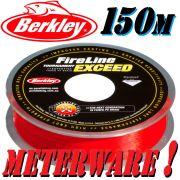 Berkley Fireline EXCEED RED geflochtene Angelschnur 0,15mm 7,9kg 150m Meterware