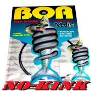 Malin BOA NO-Kink LDR Wire Titanium Leader 9,1m Single Stand Wire 6,7kg / 15lb Titaniumvorfach