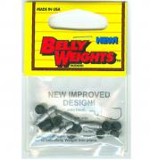 Lunker City Belly Weights / 3/16 OZ / 5 Stück