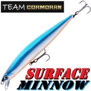 Team Cormoran Surface Minnow Wobbler 110mm 10,7g Floating HG Blue Twitchbait