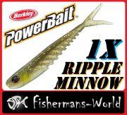 1 X Berkley Power Bait Ripple Minnow / 12,5cm / Natural 1 Stück
