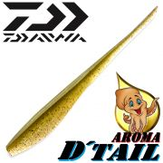 Daiwa Tournament D-Tail Pintail-Shad 3 - 7,6cm Farbe Ayu mit Tintenfischaroma No-Action-Shad für Barsch&Zander