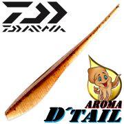 Daiwa Tournament D-Tail Pintail-Shad 4 - 10,2cm Farbe Motoroil-Ayu mit Tintenfischaroma No-Action-Shad für Barsch&Zander